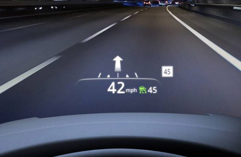 2019 Mazda CX-5 heads-up display