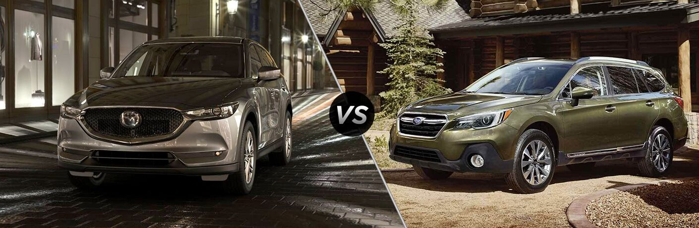 2019 Mazda CX-5 vs 2019 Subaru Outback