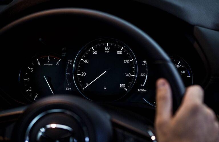 2019 Mazda CX-5 gauge cluster