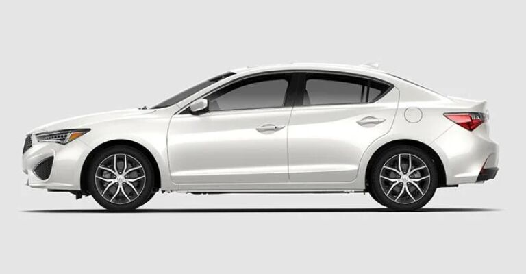 2019 Acura ILX Technology white side view