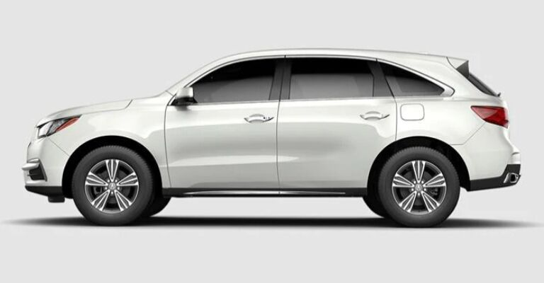 2019 Acura MDX Advance white side view