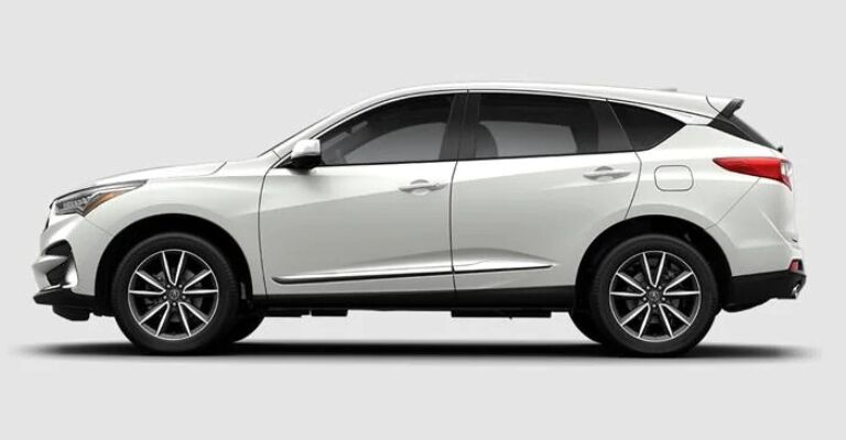 2019 Acura RDX Technology white side view