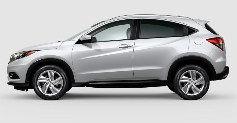 2019 Honda HR-V EX white side view