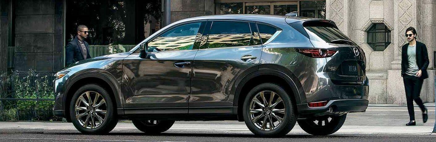 2019 Mazda CX-5 gray side view