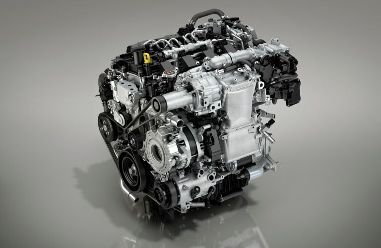 2019 Mazda3 SKYACTIV®-X engine