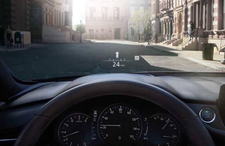 2019 Mazda6 Active Driving Display