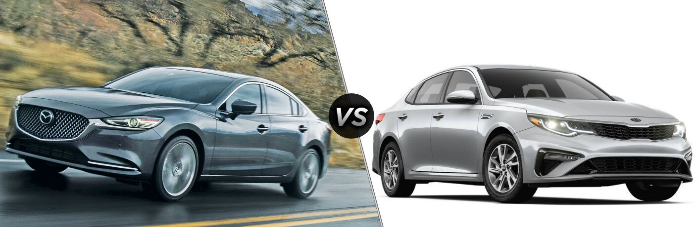 2019 Mazda6 vs 2019 Kia Optima