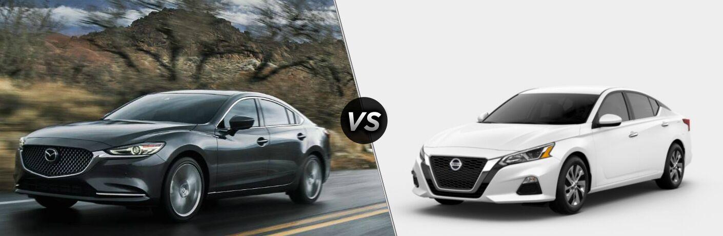 2019 Mazda6 vs 2019 Nissan Altima