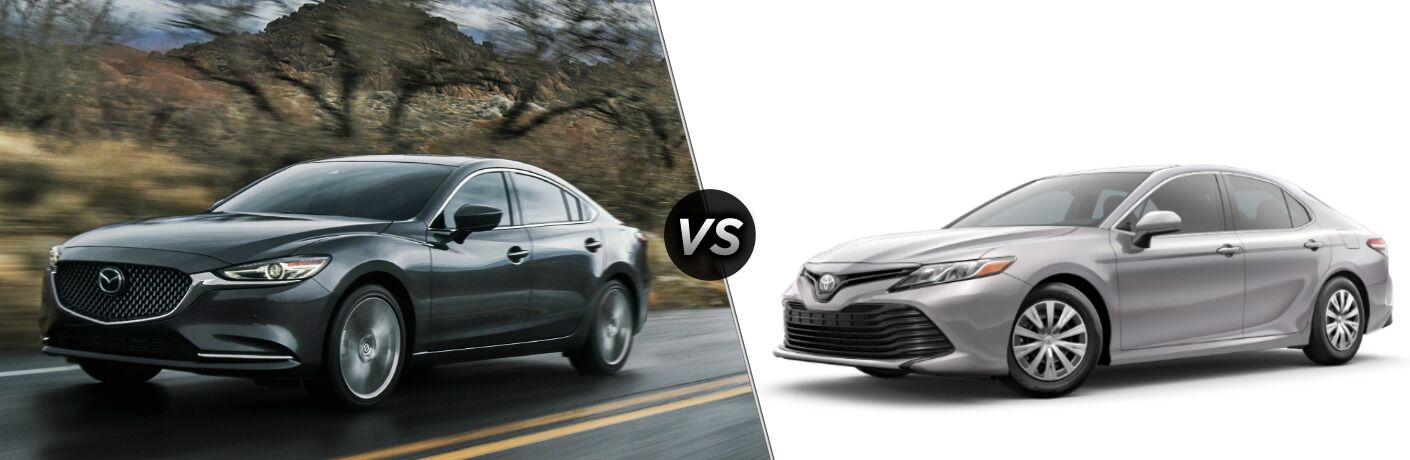 2019 Mazda6 vs 2019 Toyota Camry