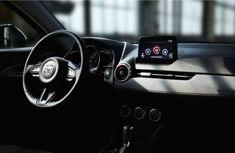 2019 Mazda CX-3 infotainment system and dash