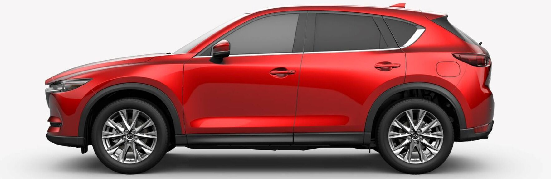 2019 Mazda CX-5 red side view