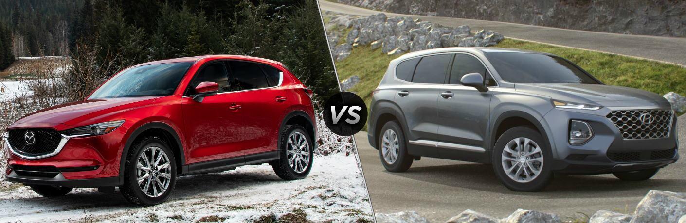 2019 Mazda CX-5 vs 2019 Hyundai Santa Fe