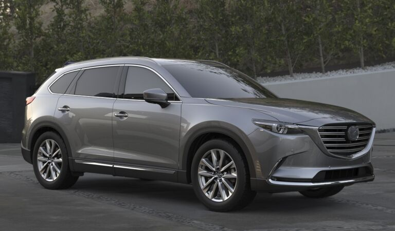 2019 Mazda CX-9 gray side view