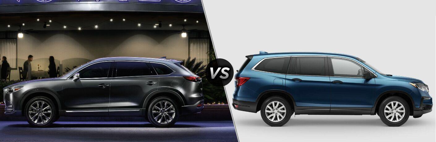 2019 Mazda CX-9 vs 2019 Honda Pilot