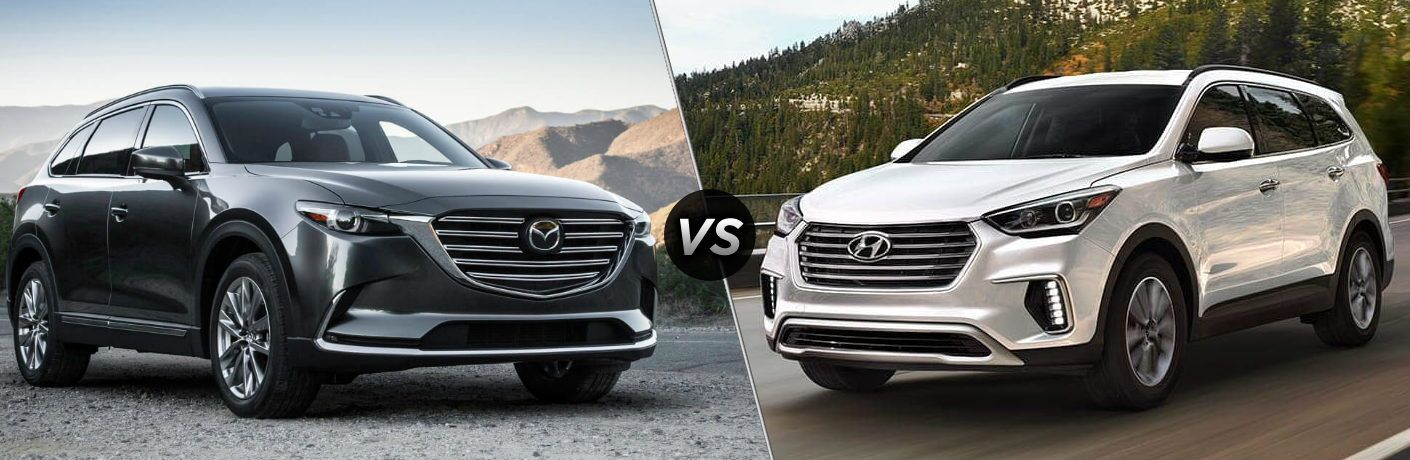 2019 Mazda CX-9 vs 2019 Hyundai Santa Fe XL