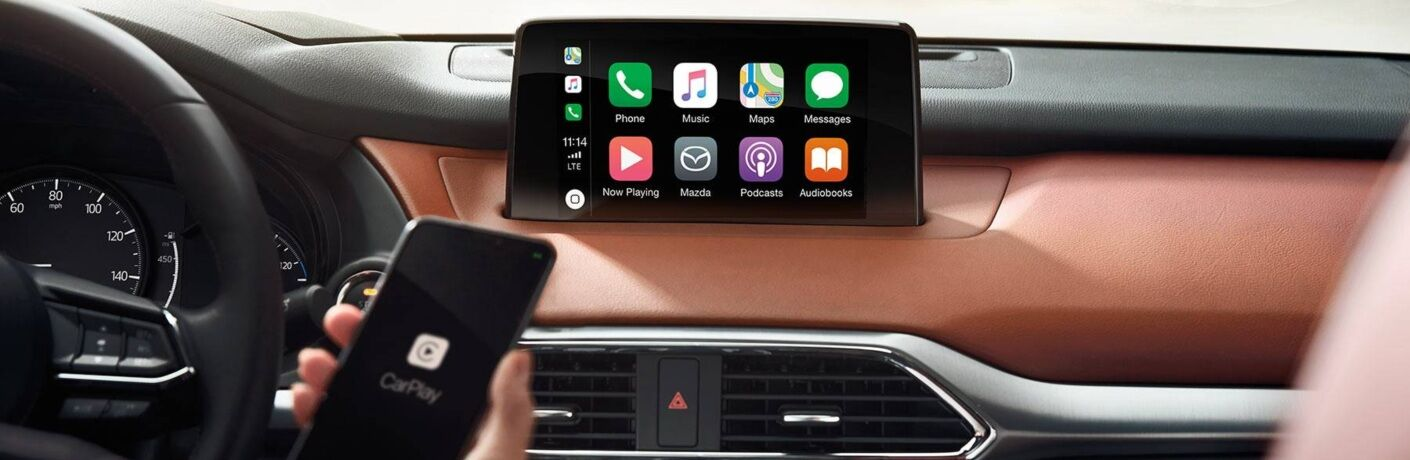 2019 Mazda CX-9 with Apple CarPlay