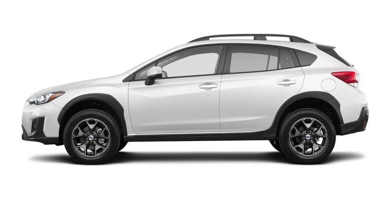 2019 Subaru Crosstrek Premium white side view