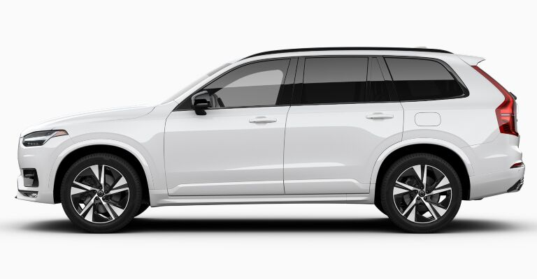 2019 Volvo XC90 R-Design white side view
