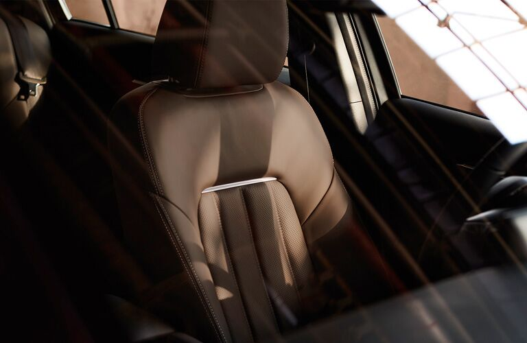 2020 Mazda6 brown leather seats