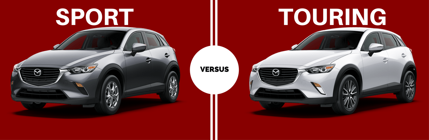 2017 Mazda CX-3 Sport vs Touring Trims