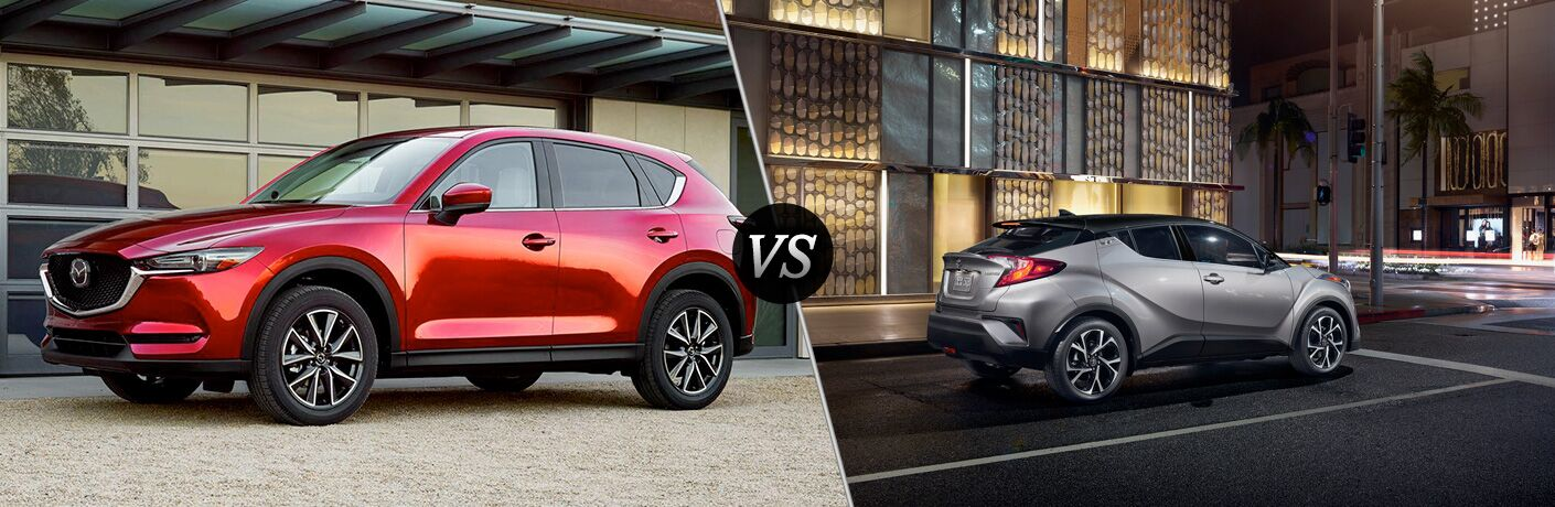 2018 mazda cx-5 vs 2019 toyota c-hr