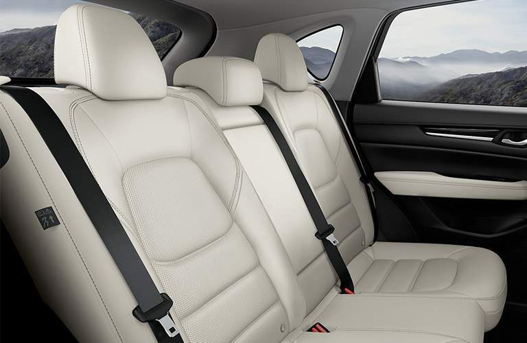 rear seats of 2018 mazda cx-5