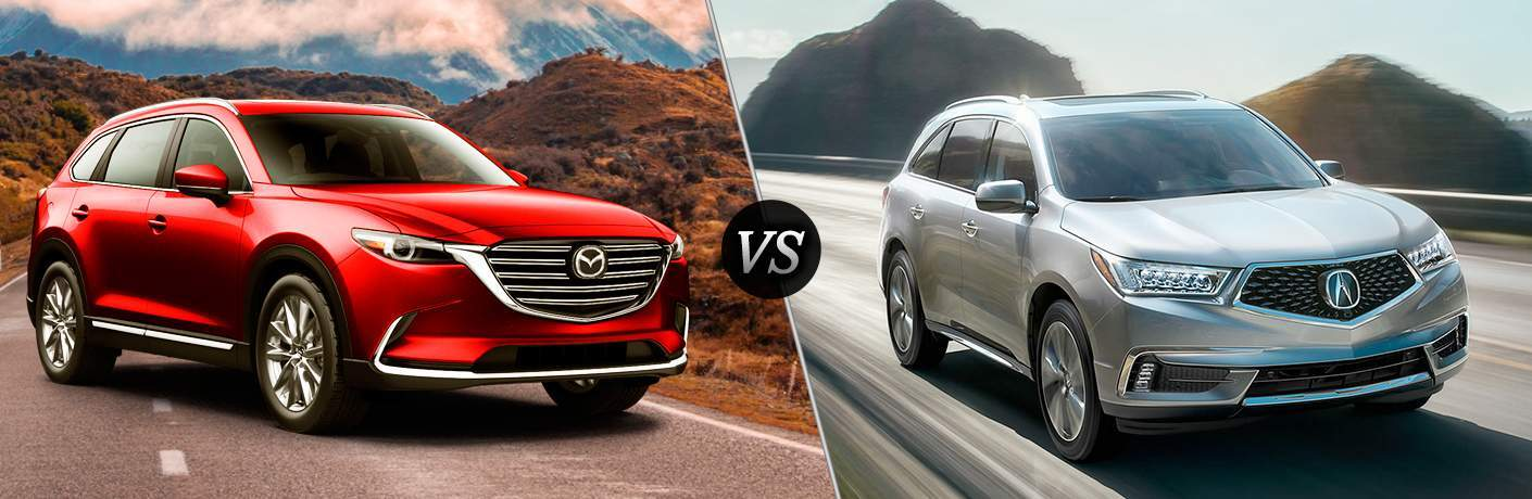 2018 Mazda CX-9 vs 2018 Acura MDX