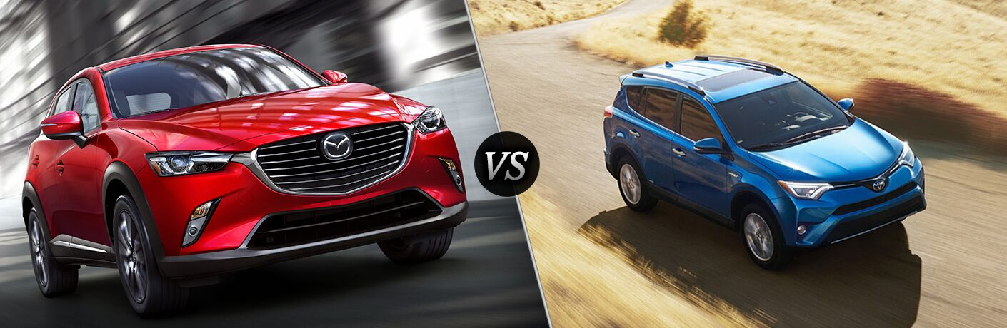 2018 Mazda CX-3 vs 2018 Toyota RAV4
