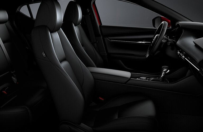 2020 Mazda3 front seating showcase