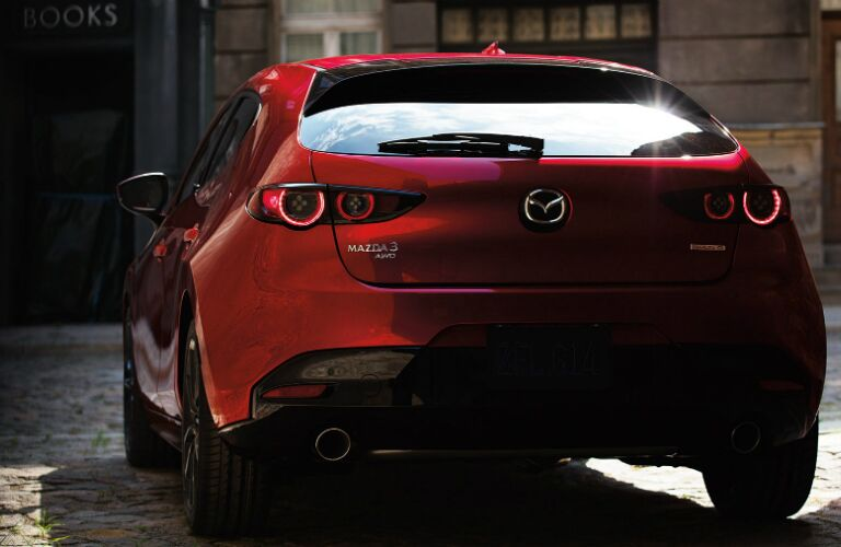 2020 Mazda3 hatchback rear exterior review