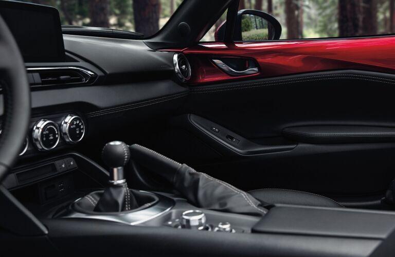 2020 Miata dash and center console showcase