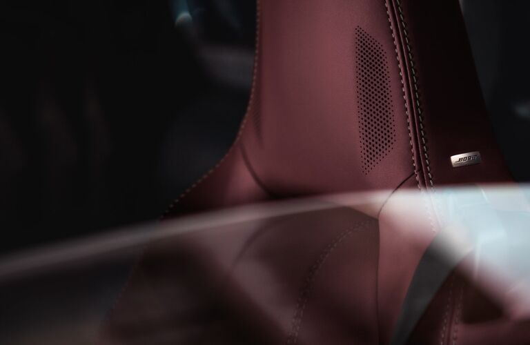 2020 Miata seating close-up