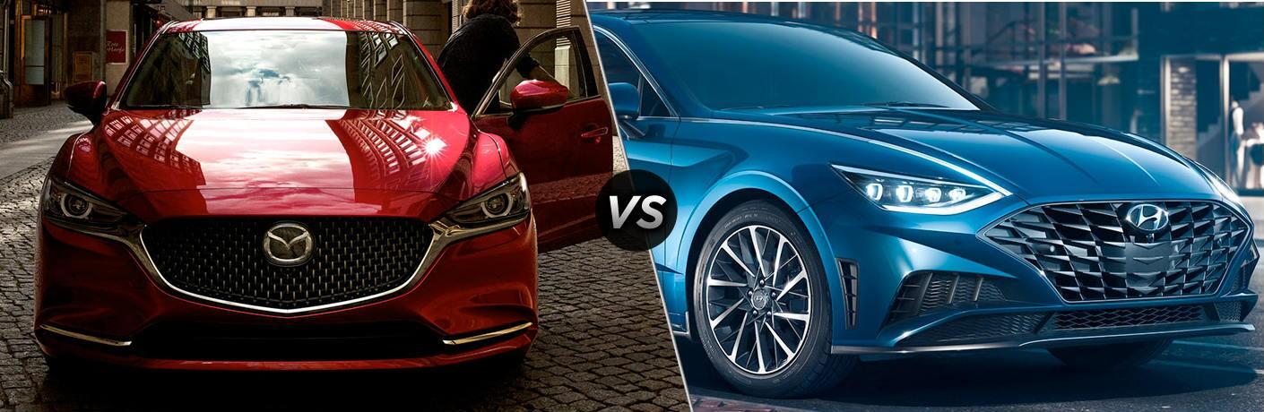 2020 Mazda6 vs 2020 Sonata
