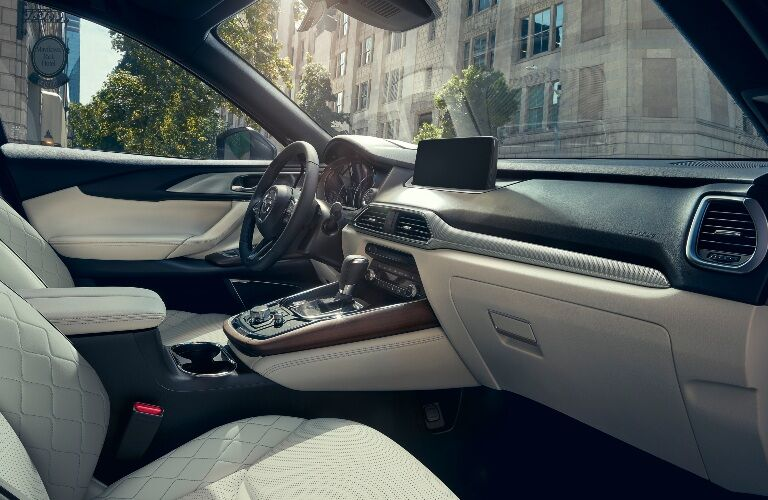 2021 CX-9 cockpit showcase
