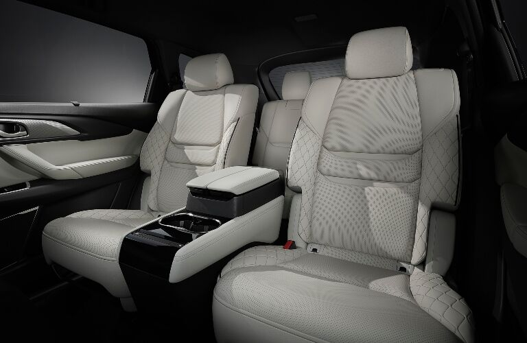 2021 CX-9 rear seating showcase