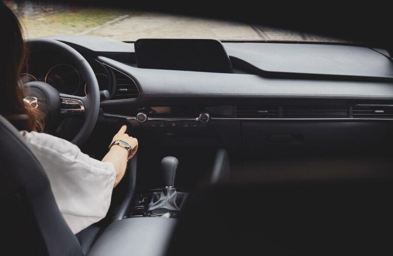 2021 Mazda3 dashboard showcase