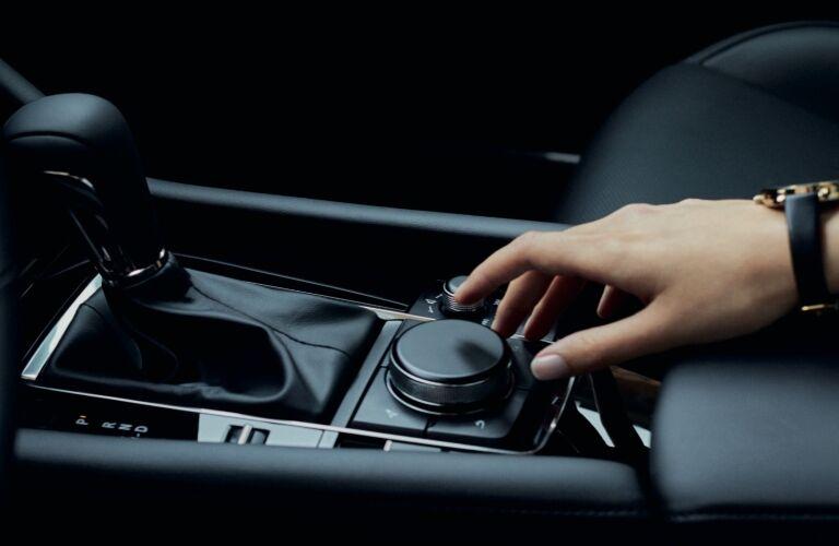 2021 Mazda3 command control knob
