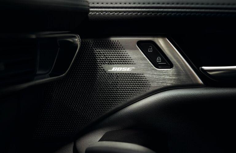 2021 Mazda3 Bose speaker showcase