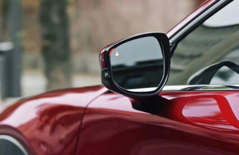 2021 CX-30 blind spot monitoring showcase