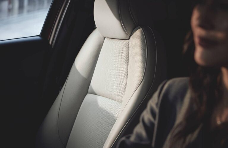 2021 CX-30 leather upholstery showcase