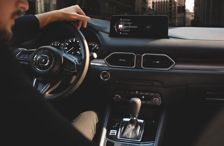 2021 Mazda CX-5 cockpit showcase