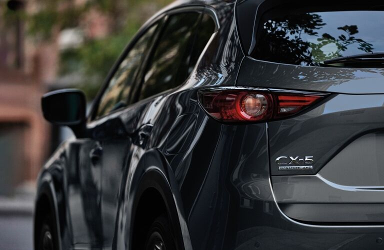 2021 CX-5 rear exterior view
