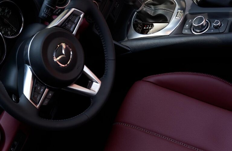 2021 Miata driver's seat stylistic shot