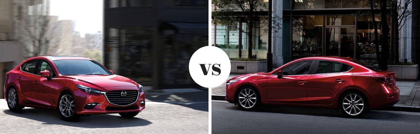 red mazda3 sport vs red mazda3 touring