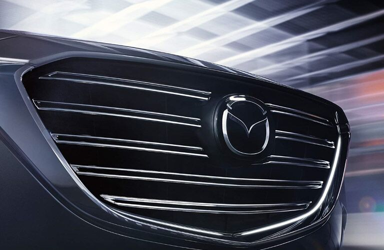 mazda cx-9 chrome grille
