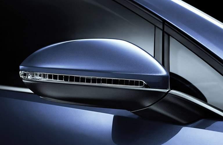 volkswagen golf side view mirror, sensors