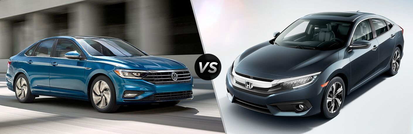 2018 Volkswagen Jetta vs. 2018 Honda Civic