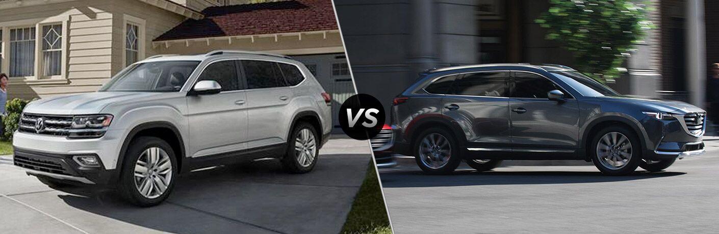 2019 Volkswagen Atlas vs 2019 Mazda CX-9