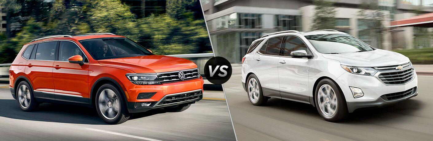 2019 Volkswagen Tiguan vs 2019 Chevy Equinox