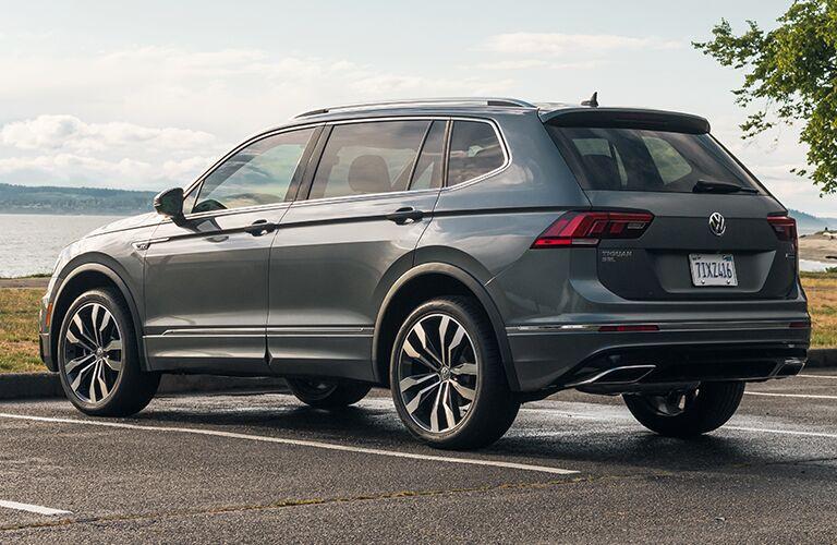 2020 Volkswagen Tiguan in a parking spot